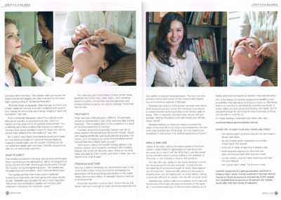 Dr Vivian Tam featured in Bay Lifestyle
