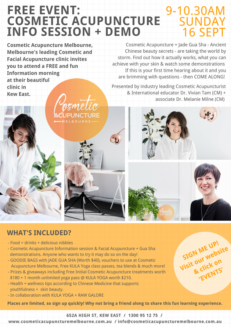 Cosmetic Acupuncture Information Session