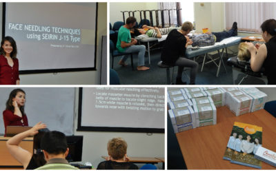 Dr. Vivian Tam presenting in Sydney