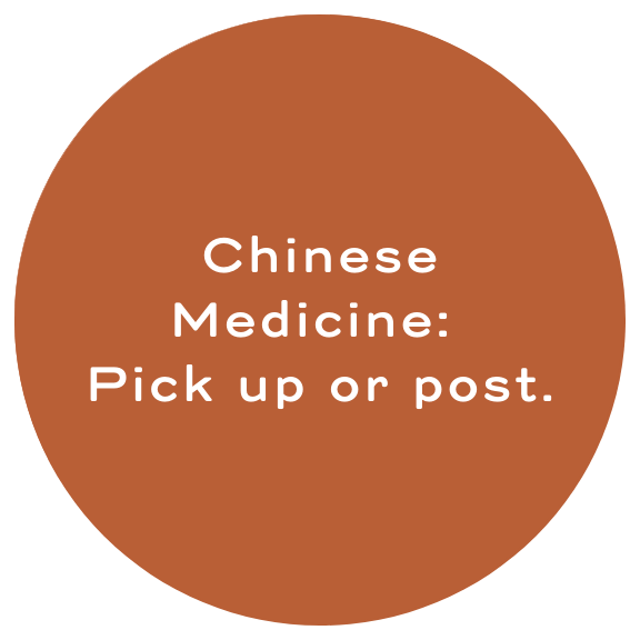 Chinese medicine pick up or post
