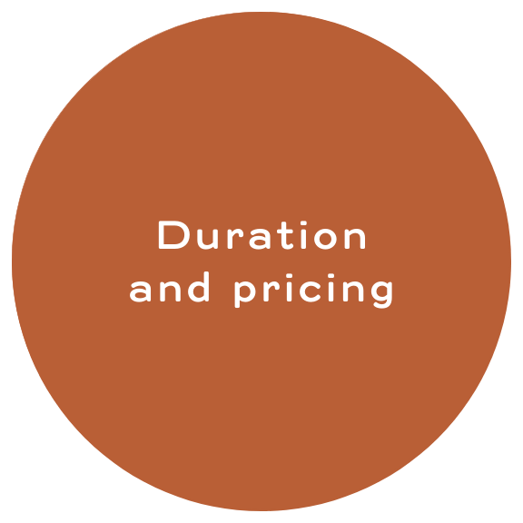 Duration and Pricing